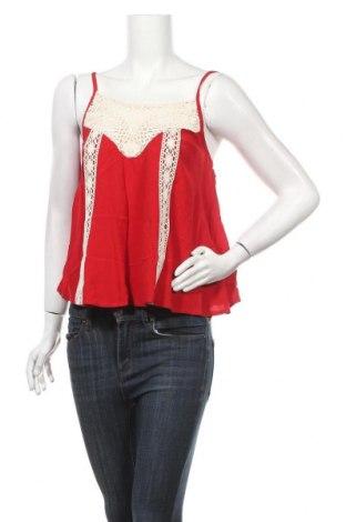 Γυναικείο αμάνικο μπλουζάκι Twintip, Μέγεθος XS, Χρώμα Κόκκινο, Βισκόζη, βαμβάκι, Τιμή 6,43€