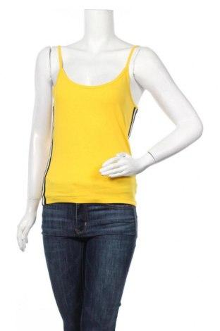 Γυναικείο αμάνικο μπλουζάκι Twintip, Μέγεθος M, Χρώμα Κίτρινο, 95% βαμβάκι, 5% ελαστάνη, Τιμή 6,43€