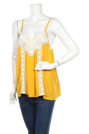 Γυναικείο αμάνικο μπλουζάκι Twintip, Μέγεθος XL, Χρώμα Κίτρινο, Βισκόζη, Τιμή 7,09€