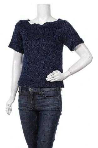 Дамски пуловер Body Flirt, Размер S, Цвят Син, 93% полиакрил, 4% метални нишки, 3% полиестер, Цена 5,51лв.