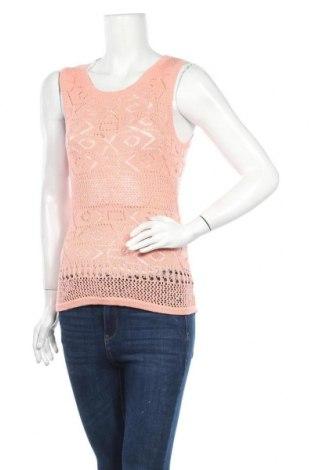 Дамски пуловер Charles Vogele, Размер XS, Цвят Розов, 95% памук, 5% еластан, Цена 4,99лв.