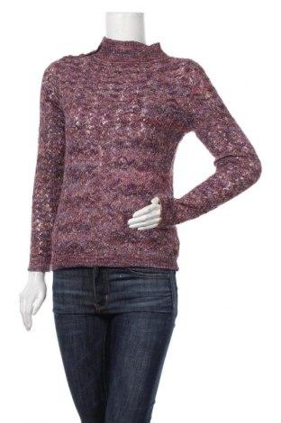 Дамски пуловер Cortefiel, Размер XS, Цвят Многоцветен, 54% памук, 32% акрил, 12% полиестер, 2% вълна, Цена 8,19лв.