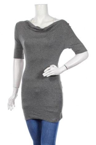 Дамски пуловер Express, Размер S, Цвят Сив, 60% памук, 40% модал, Цена 6,04лв.