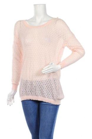 Дамски пуловер Mango, Размер L, Цвят Розов, Памук, Цена 9,88лв.