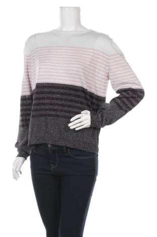 Γυναικείο πουλόβερ Mark Adam, Μέγεθος XL, Χρώμα Πολύχρωμο, 40% βαμβάκι, 40% βισκόζη, 20% μεταλλικά νήματα, Τιμή 13,51€
