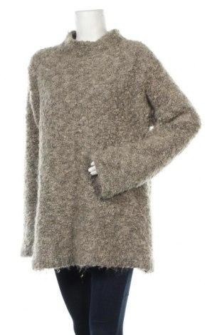 Γυναικείο πουλόβερ Noa Noa, Μέγεθος L, Χρώμα Γκρί, 55% μοχαίρ, 35%ακρυλικό, 10% πολυεστέρας, Τιμή 19,92€
