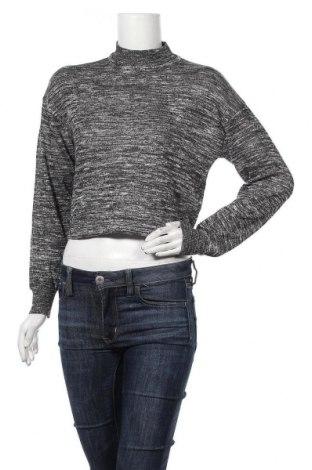 Дамски пуловер Noisy May, Размер S, Цвят Сив, 55% полиестер, 45% вискоза, Цена 9,45лв.
