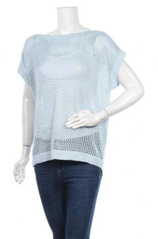 Γυναικείο πουλόβερ Now, Μέγεθος M, Χρώμα Μπλέ, Ακρυλικό, μεταλλικά νήματα, Τιμή 5,07€
