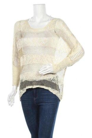Дамски пуловер Olla Oh, Размер M, Цвят Екрю, Цена 6,83лв.