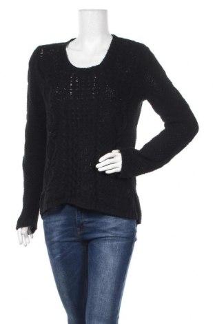 Дамски пуловер Otto Kern, Размер L, Цвят Черен, Памук, Цена 13,65лв.