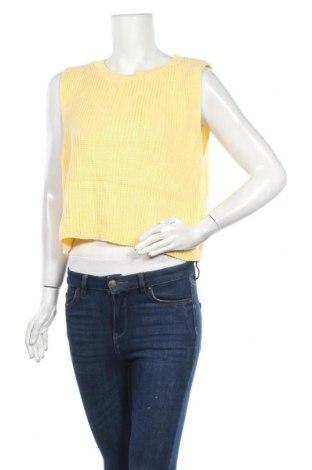 Дамски пуловер Pretty Little Thing, Размер M, Цвят Жълт, Акрил, Цена 9,18лв.
