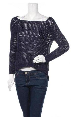 Дамски пуловер Promod, Размер M, Цвят Син, Цена 6,56лв.