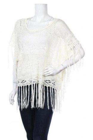 Дамски пуловер Pull&Bear, Размер M, Цвят Екрю, Цена 5,46лв.