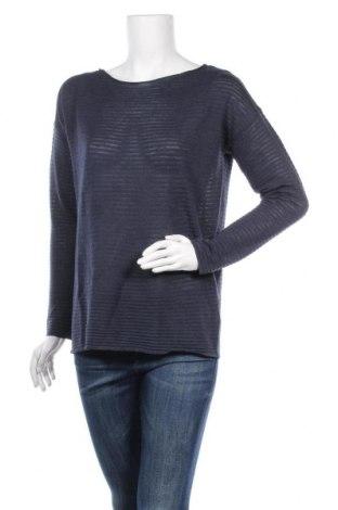 Дамски пуловер Soya Concept, Размер S, Цвят Син, 65% полиестер, 35% вискоза, Цена 42,00лв.