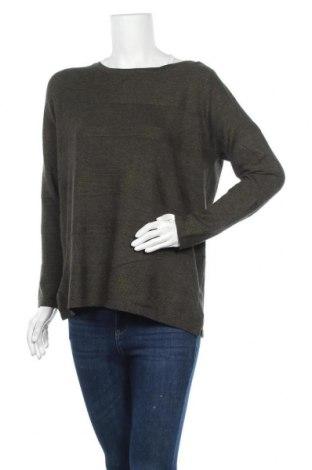 Дамски пуловер Suzanne Grae, Размер L, Цвят Зелен, Вискоза, полиамид, Цена 11,76лв.