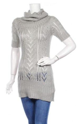 Дамски пуловер Tally Weijl, Размер M, Цвят Сив, Акрил, Цена 4,99лв.