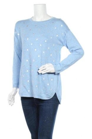 Дамски пуловер Target, Размер M, Цвят Син, Памук, вискоза, Цена 22,46лв.