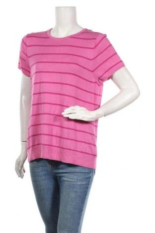Γυναικείο πουλόβερ Target, Μέγεθος XL, Χρώμα Ρόζ , Βισκόζη, βαμβάκι, Τιμή 9,35€