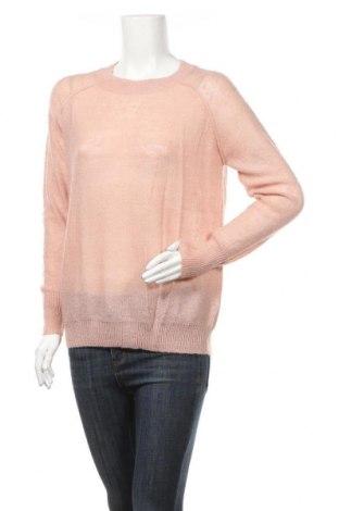 Дамски пуловер Topshop, Размер M, Цвят Розов, 45% акрил, 40% полиамид, 8% мохер, 7% вълна, Цена 48,00лв.