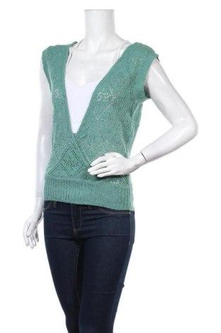Дамски пуловер Valley Girl, Размер M, Цвят Зелен, Полиамид, еластан, Цена 6,30лв.