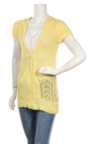 Γυναικείο πουλόβερ Valley Girl, Μέγεθος S, Χρώμα Κίτρινο, Βαμβάκι, ελαστάνη, Τιμή 5,00€