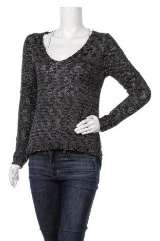 Дамски пуловер Xception by Papa fashions, Размер M, Цвят Черен, 70% акрил, 30% полиестер, Цена 12,60лв.