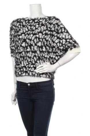 Дамски пуловер Yes Or No, Размер S, Цвят Черен, 70% акрил, 30% вълна, Цена 19,85лв.