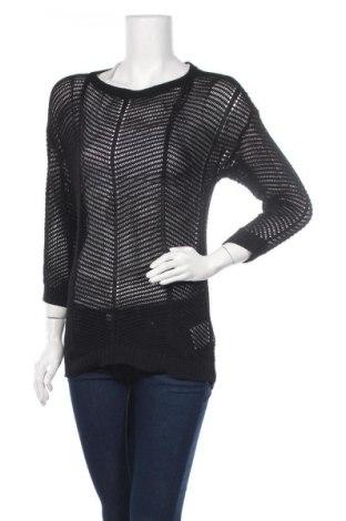 Дамски пуловер Yessica, Размер S, Цвят Черен, 50% памук, 50% акрил, Цена 7,35лв.