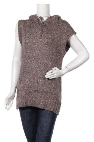 Дамски пуловер Yessica, Размер M, Цвят Кафяв, 55% акрил, 21% памук, 20% полиамид, 6% вълна, Цена 7,09лв.