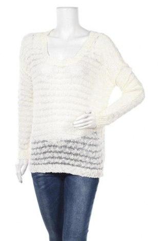 Дамски пуловер Zebra, Размер L, Цвят Бял, 97% акрил, 3% полиамид, Цена 6,04лв.