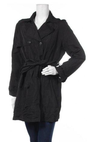 Дамски шлифер Noni B, Размер L, Цвят Черен, Полиестер, Цена 35,91лв.