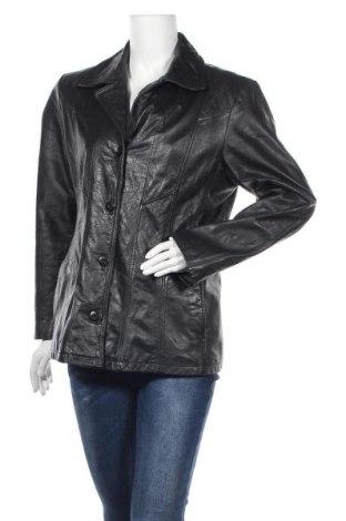 Γυναικείο δερμάτινο μπουφάν Maxima, Μέγεθος L, Χρώμα Μαύρο, Γνήσιο δέρμα, Τιμή 20,91€