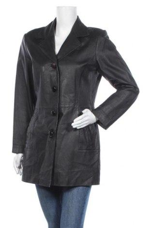 Γυναικείο δερμάτινο μπουφάν Woodpecker, Μέγεθος L, Χρώμα Μαύρο, Γνήσιο δέρμα, Τιμή 19,10€