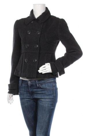 Дамско палто, Размер S, Цвят Черен, 53% вълна, 47% полиестер, Цена 16,28лв.