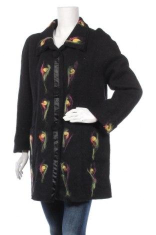 Дамско палто, Размер L, Цвят Черен, Цена 35,49лв.
