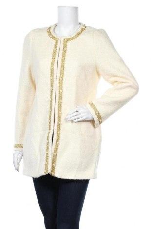 Дамско палто, Размер XL, Цвят Екрю, Цена 29,93лв.