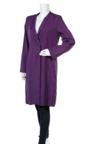 Дамско палто, Размер L, Цвят Лилав, Цена 17,33лв.