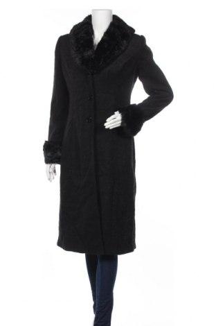 Дамско палто, Размер M, Цвят Черен, Цена 73,71лв.