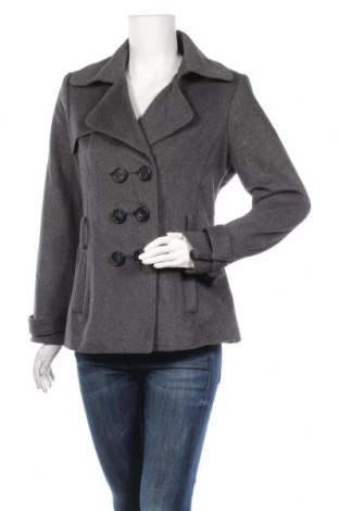 Дамско палто, Размер L, Цвят Сив, Цена 18,11лв.