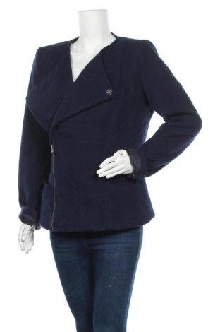 Дамско палто Supertrash, Размер XL, Цвят Син, 90% полиестер, 10% вискоза, Цена 25,99лв.
