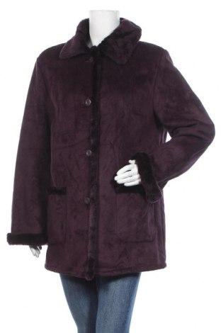 Дамско палто, Размер L, Цвят Лилав, Полиестер, Цена 21,53лв.