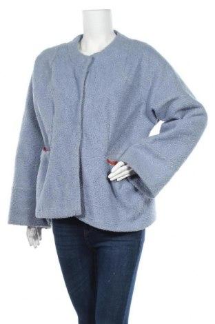 Дамско палто, Размер L, Цвят Син, Полиестер, Цена 16,28лв.