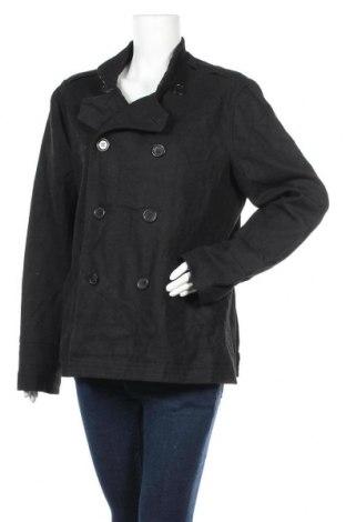 Дамско палто, Размер L, Цвят Черен, Цена 10,76лв.