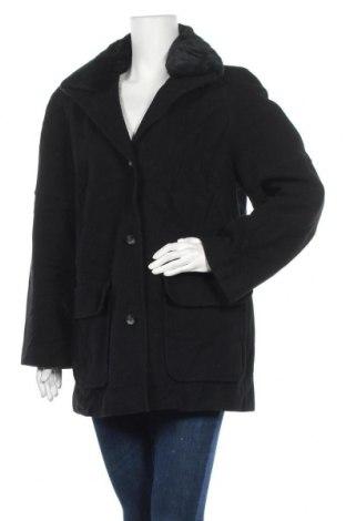 Дамско палто, Размер L, Цвят Черен, 70% вълна, 20% полиамид, 10% кашмир, Цена 19,69лв.