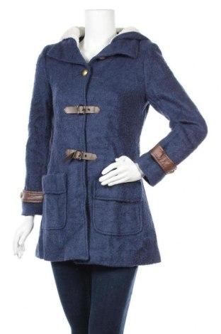 Дамско палто, Размер S, Цвят Син, Цена 49,14лв.