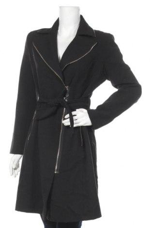 Дамско палто, Размер M, Цвят Черен, Цена 36,23лв.