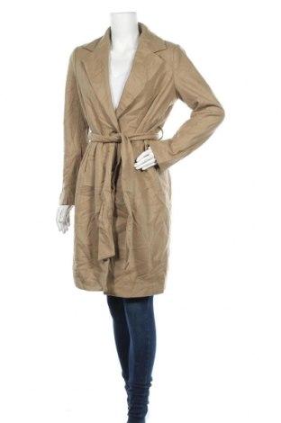 Дамско палто ASOS, Размер M, Цвят Бежов, 60% вълна, 35% полиестер, 2% акрил, 2% вискоза, 1% памук, Цена 29,40лв.
