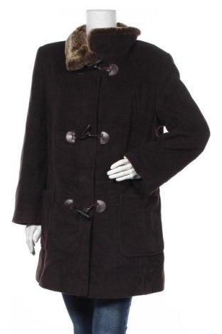 Дамско палто Basler, Размер L, Цвят Кафяв, 65% вълна, 20% ангора, 15% полиамид, Цена 118,70лв.