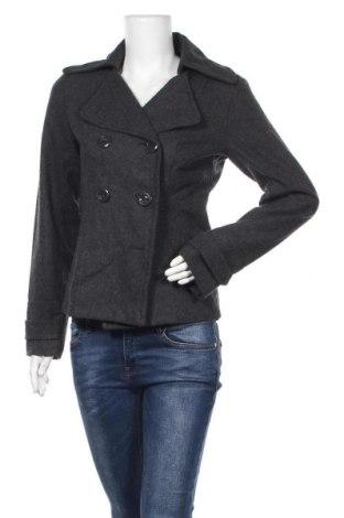 Дамско палто Chicoree, Размер S, Цвят Сив, 60% вълна, 40% полиестер, Цена 16,28лв.