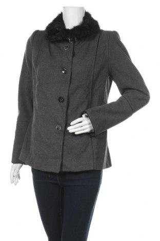 Дамско палто Gianni Rodini, Размер M, Цвят Сив, Цена 14,18лв.
